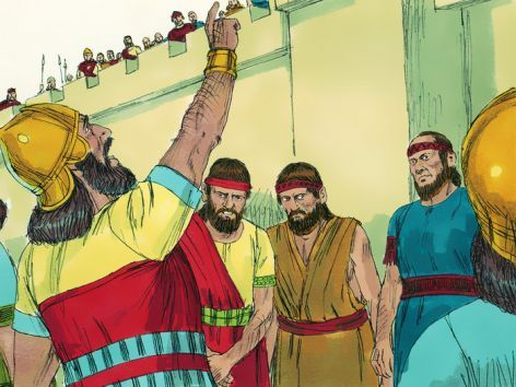 King Hezekiah And The Assyrian Bullies New Bible Story Posted