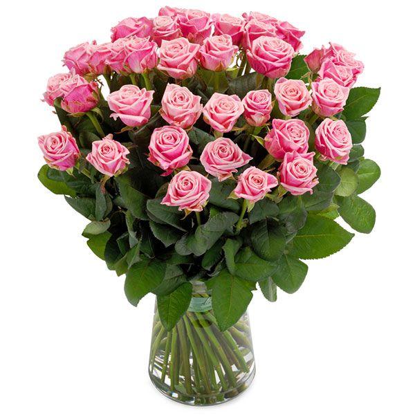 Perfecte roze rozen boeket  En toen waren er rozen! Een ongekend fris boeket van felroze rozen om uw liefde of waardering te laten blijken of vele andere gevoelens uit te drukken.  EUR 45.00  Meer informatie  http://ift.tt/2dN0VDS #bloemen