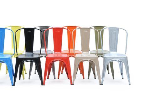 El mueble del dia...by MIME http://mimestudio.es/el-mueble-del-dia-silla-tolix-mime/