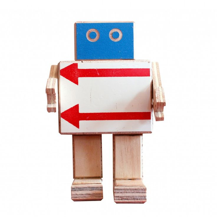 Mini Robot Rijkswachter van BEEmeubels | Markita.nl