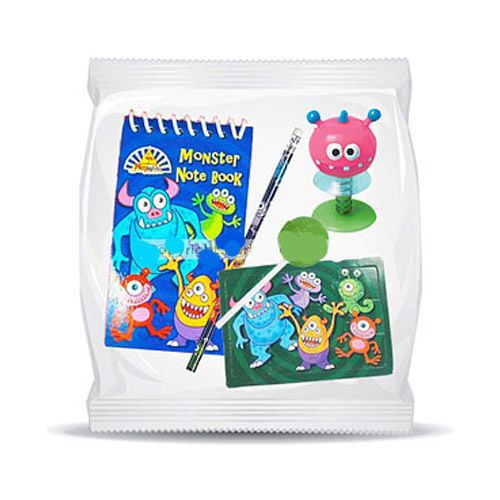New Pre-filled Monsters Inc party bags x6 Use as prizes or party bag fillers #unknown #BirthdayChildhalloween