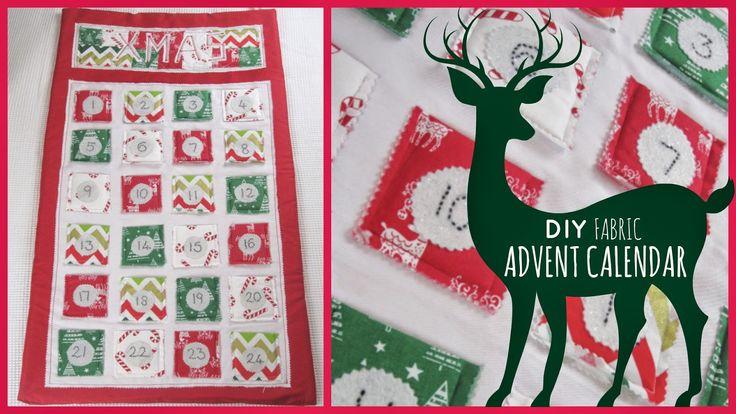 StyleNovice: Christmas ❄ DIY Fabric Advent Calendar
