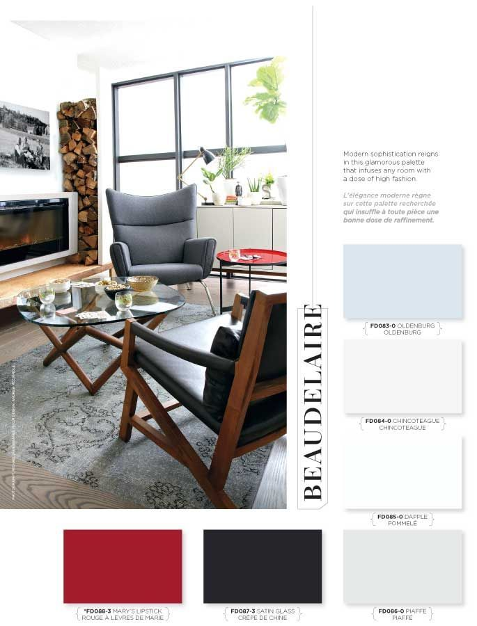 Modern sophistication reigns in this glamorous palette that infuses any room with a dose of high fashion. #BeautiTone #StyleAtHome