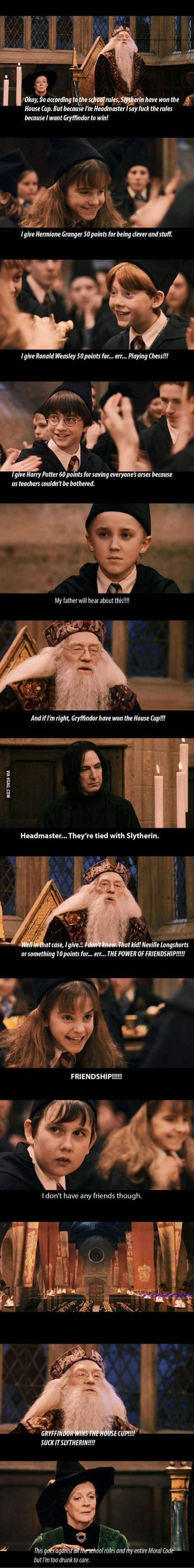 Harry Potter and the Sorcerers Stone: Honest Ending.