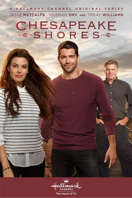 "Starts Aug 14 --  ""Chesapeake Shores"" - a Hallmark Channel TV Series starring Meghan Ory, Jesse Metcalfe, Diane Ladd, Barbara Niven, and Treat Williams"
