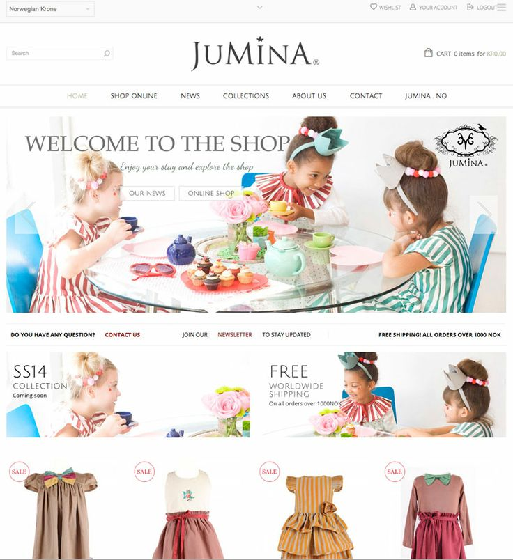 Welcome to our online shop!