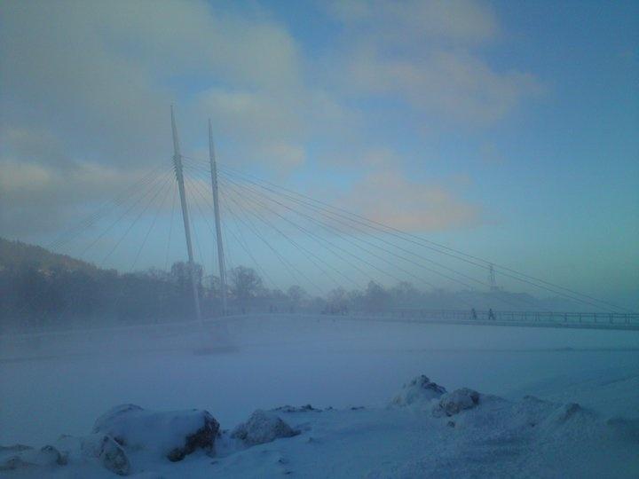 Ypsilon bridge Drammen