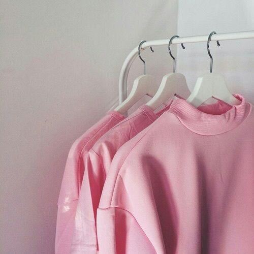 Pink V Neck Sweater