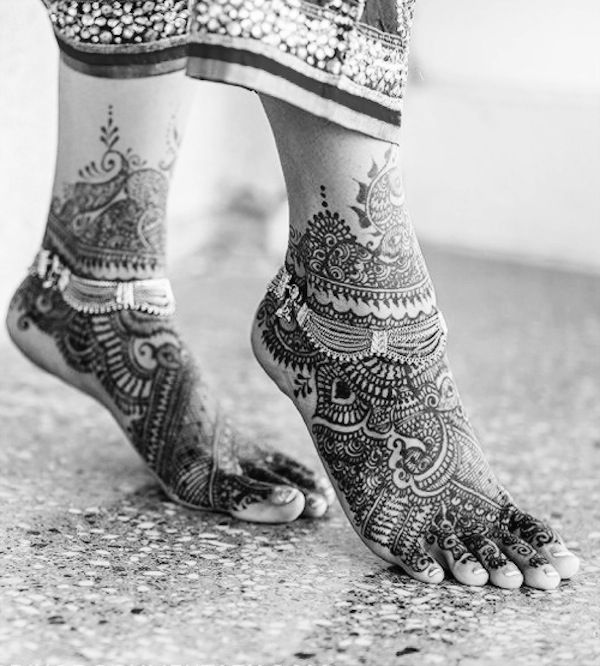I love feet henna tattoo! #TattooModels #tattoo
