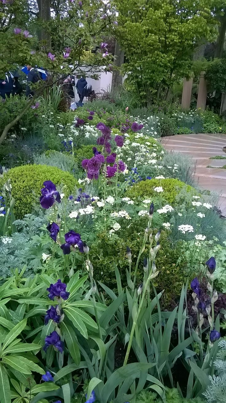 Charlie Albone's Husqvarna/Gardena show garden - This tranquil garden is Charlie's message to his late father