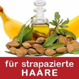DIY • Bananen-Mandelöl Haarkur für strapaziertes Haar