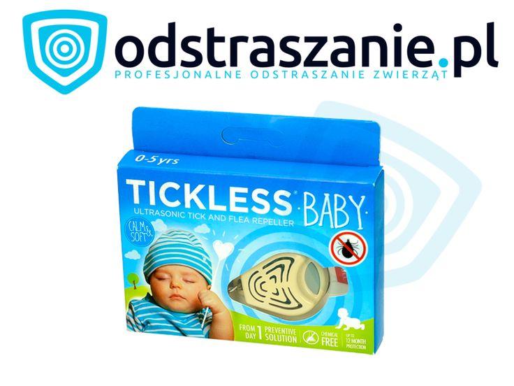 Odstraszacz kleszczy dla dzieci. Tickless Baby beżowy. Odstraszacz na kleszcze. :: Odstraszanie.pl