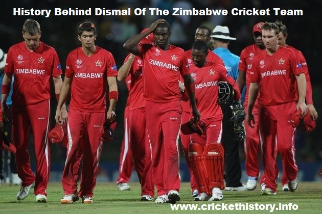 History Behind The Dismal Of The Zimbabwe Cricket Team.  #indvszim #crickethistory #news #latest #records