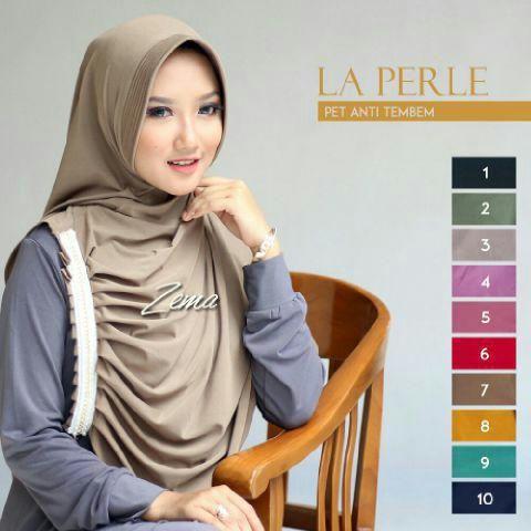 Jilbab Instan Cantik Terbaru Modis Modern La Perle