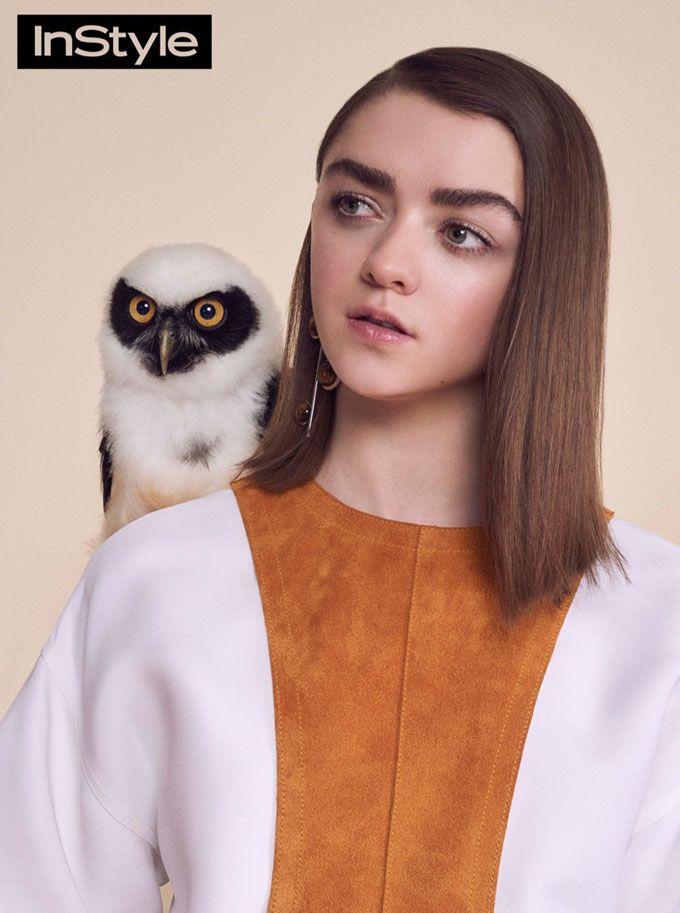 Мэйси Уильямс (Maisie Williams) для InStyle UK