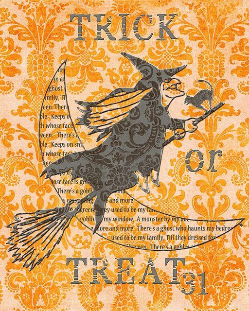 Fall and Halloween printables.