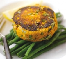Sweet Potato And Tuna Fish Cakes Recipe is a good accompaniment of the main dinner recipes.