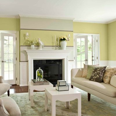 Benjamin Moore Castleton Mist - wonderful green!! In my family room :)