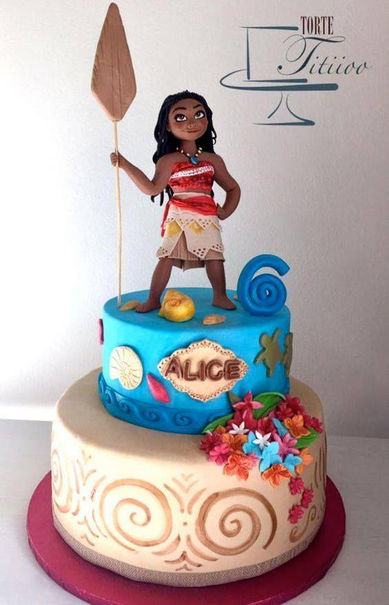 Fiesta infantil tematica de moana hawaiana (18) - Tutus para Fiestas Mexico - Disfrases personalizados y moños
