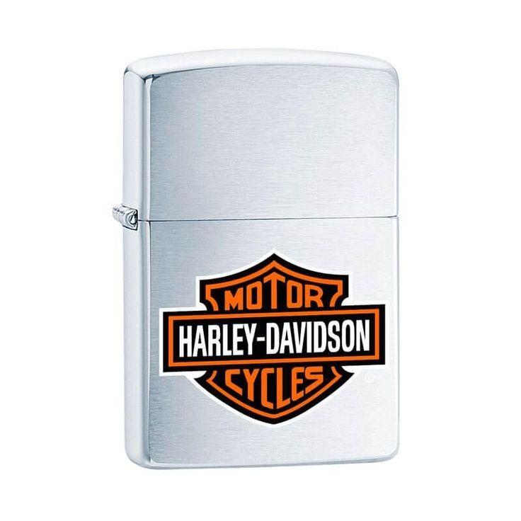 Isqueiro Zippo 200HD.H252 Harley-Davidson® Logo Colorido - Gerilu.com.br