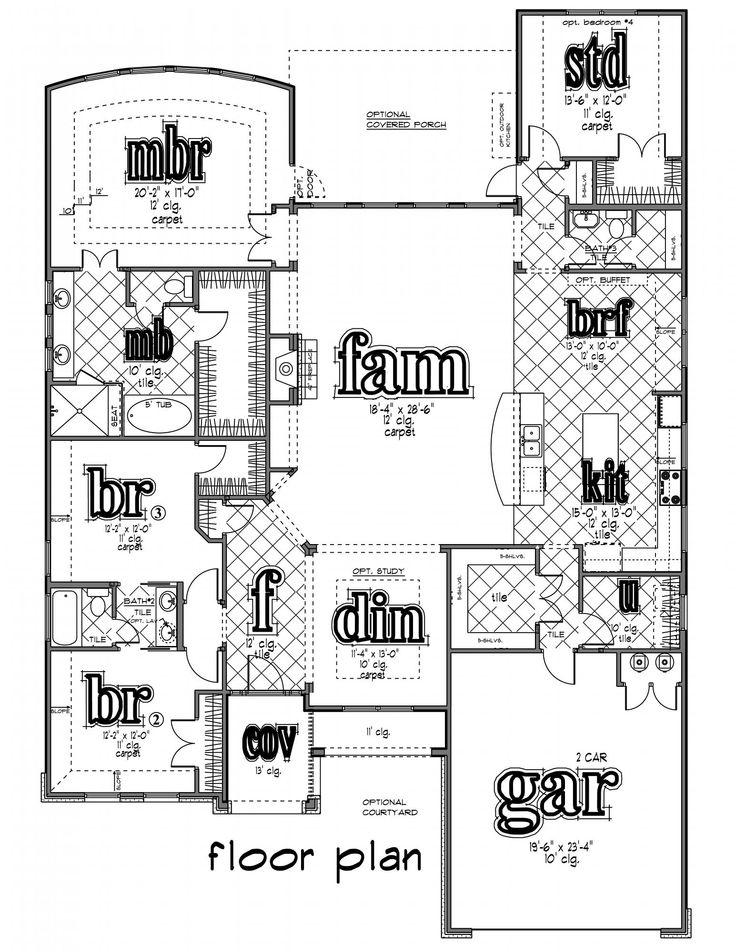 71 Best Dream Homes Floor Plans Images On Pinterest