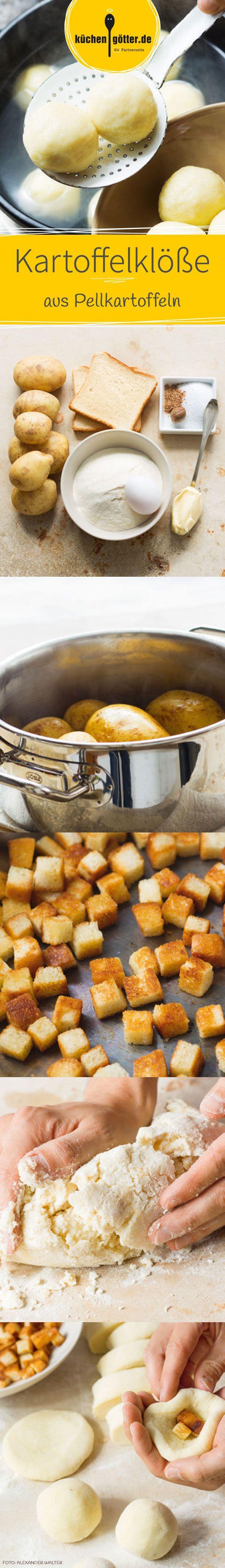 Selbstgemachte Kartoffelknödel sind eigentlich ganz einfach zu machen. In unserem Rezept zeigen wir euch Schritt für Schritt wie es geht.