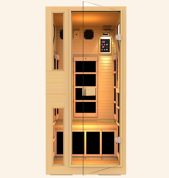 Ensi™ 1 Person Zero-EMF Far Infrared Sauna. MLK 3 Days Sale! Save $800!