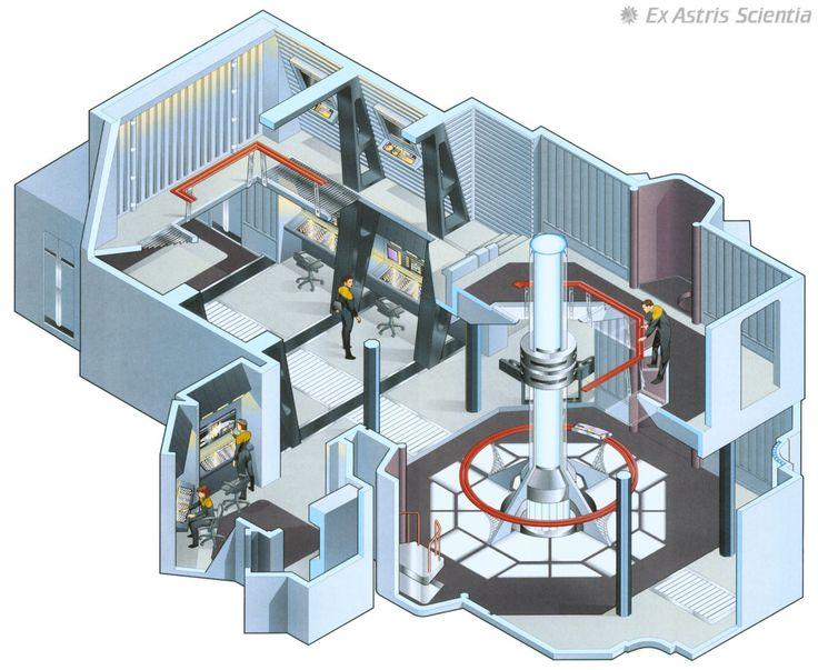 Engine room u s s voyager star trek bridge layout for Interior decoration engineering