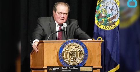 Who said we 'can't favor religion over non-religion?' Justice Scalia dismisses notion of neutrality