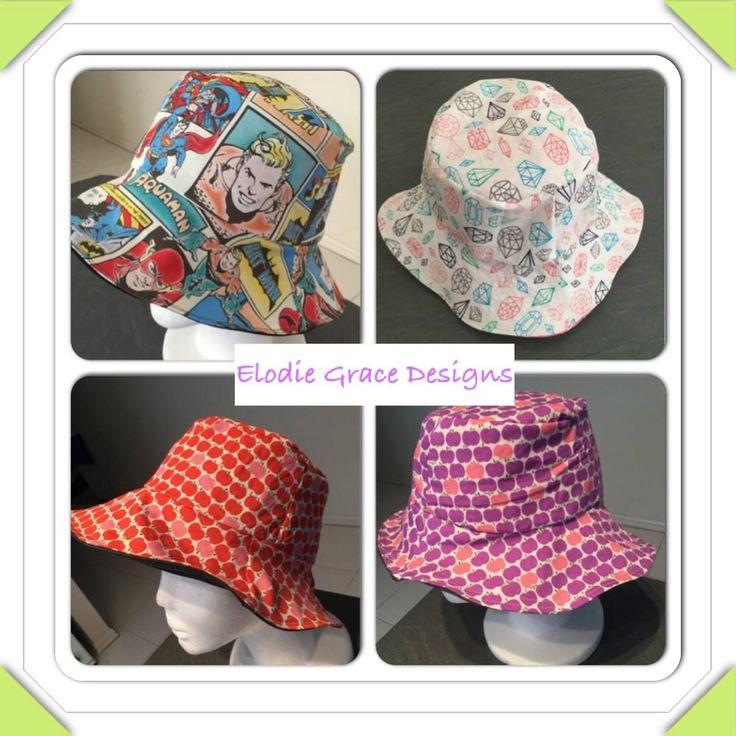 Handmade Bucket Hats