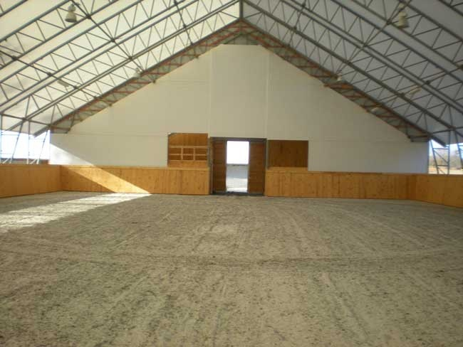 Clearridge Clearspan Arena Indoor Riding Arena Pinterest On The Side T