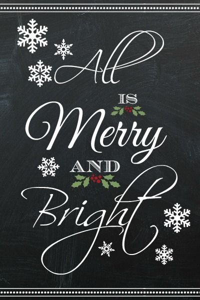Free Christmas printables to download. These would look great displayed in frames. I love the small ones for gift tags as well.