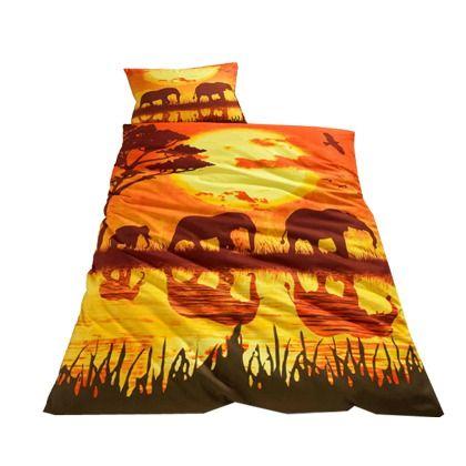 Bettwäsche Afrika