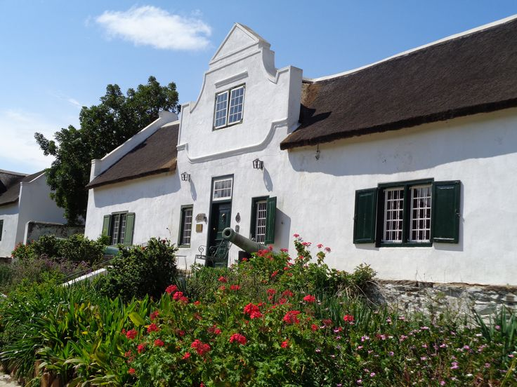 Church Street, Tulbagh, with the most heritage sites in one street in South Africa