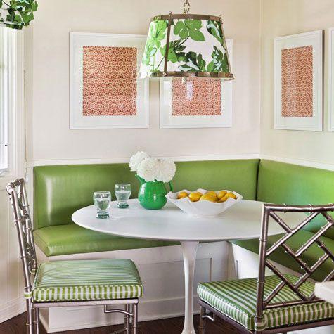 Green Banquette