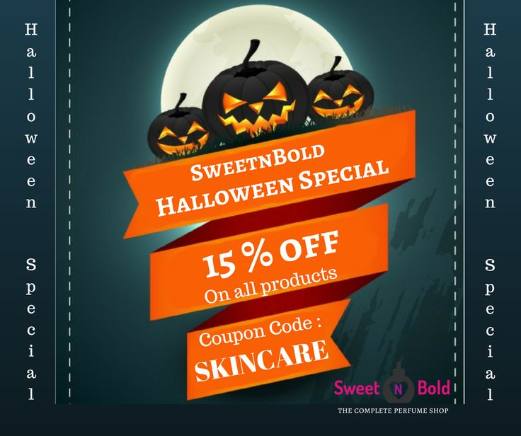 16 best events images on pinterest perfume colnia e conjuntos de this halloween shop from sweet n bold online perfume shop and avail a discount of 15 use coupon code skincare hurry offer ends soon fandeluxe Image collections