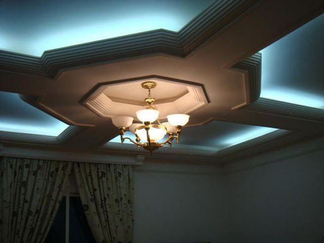 ceilings! - this is a unique design, the polygon in the centre really gives it a futuristic look!
