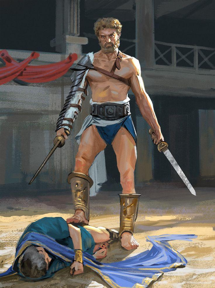 Spartacus by Andrei-Pervukhin.deviantart.com on @DeviantArt