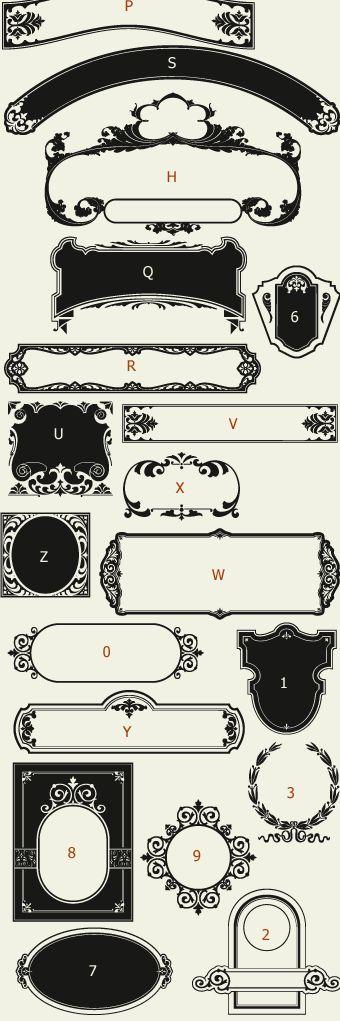 Letterhead Fonts / LHF Main Street Panels / Golden Era Studios NOT FREE