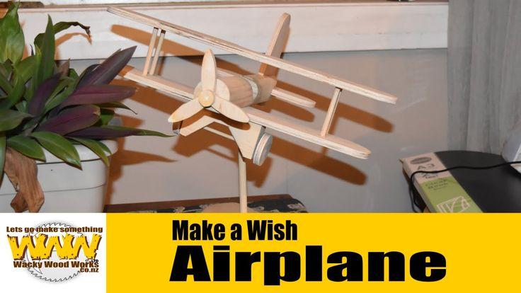 Air Plane - Wacky Wood Works