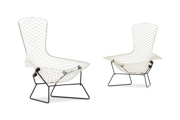 Bird Chairs By Harry Bertoia For Knoll International 1960s Set Of 2 1 Bertoia Harry Bertoia Chair