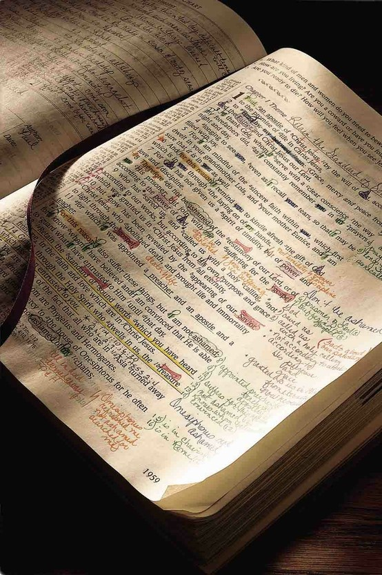 """""""The Bible that's Falling Apart Usually Belongs to Someone Who Isn't.""""  Charles Spurgeon"""