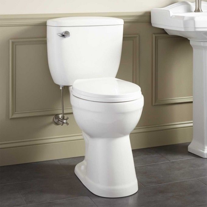 Stalnaker Siphonic Two Piece Round Toilet 19 Quot Seat