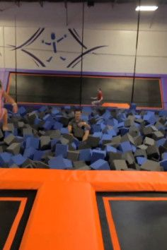 Trampoline Park In Little Rock Foam Pit We Are Going There For My