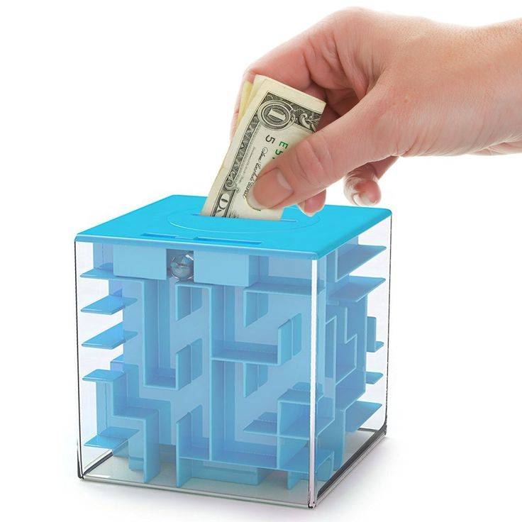 Money maze puzzle box for kids and adults unique way to