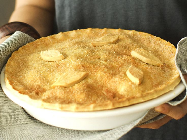The addition of dates and orange rind gives this otherwise traditional apple pie…