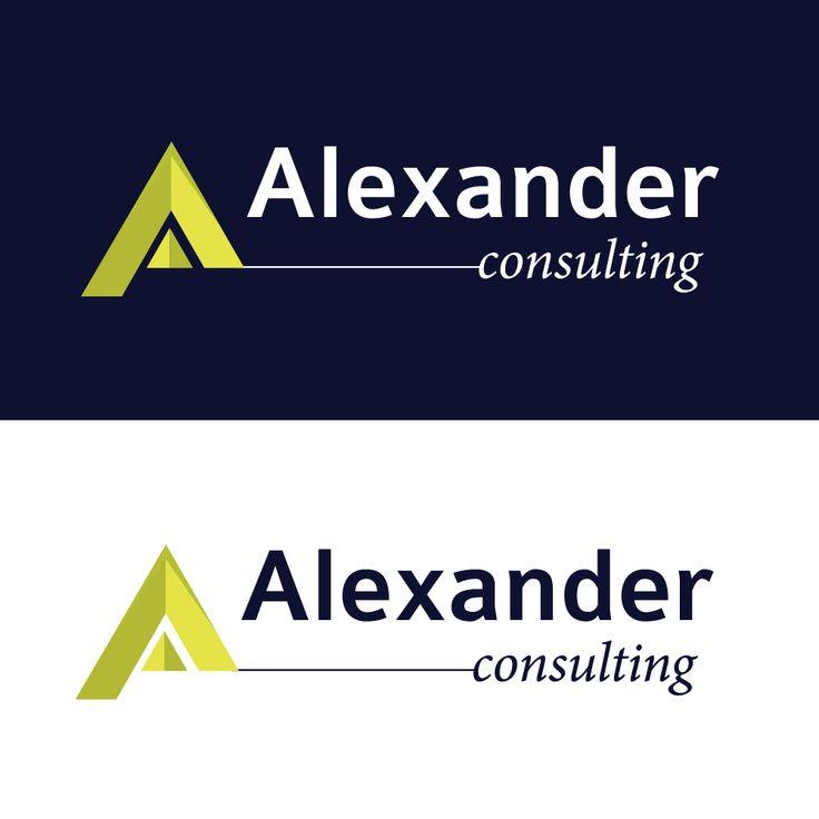Creare logo - Alexander Consulting