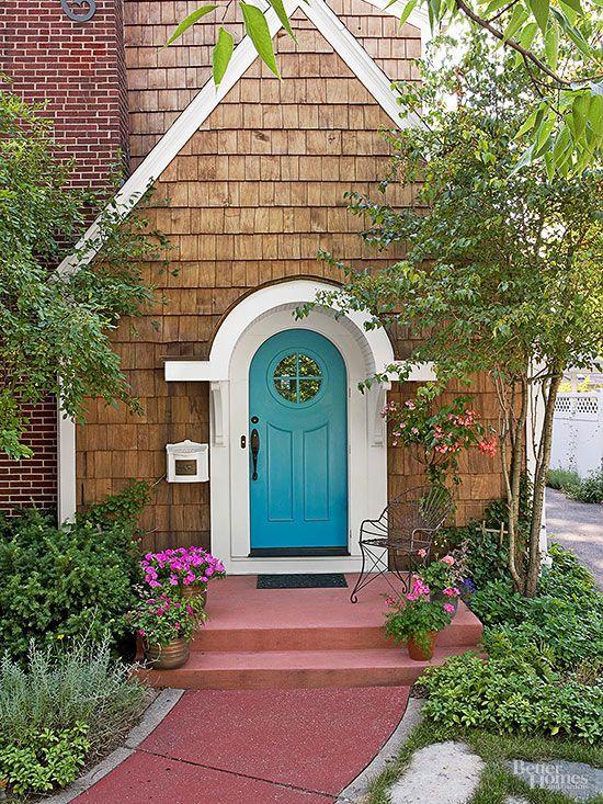 Azul puertas delanteras