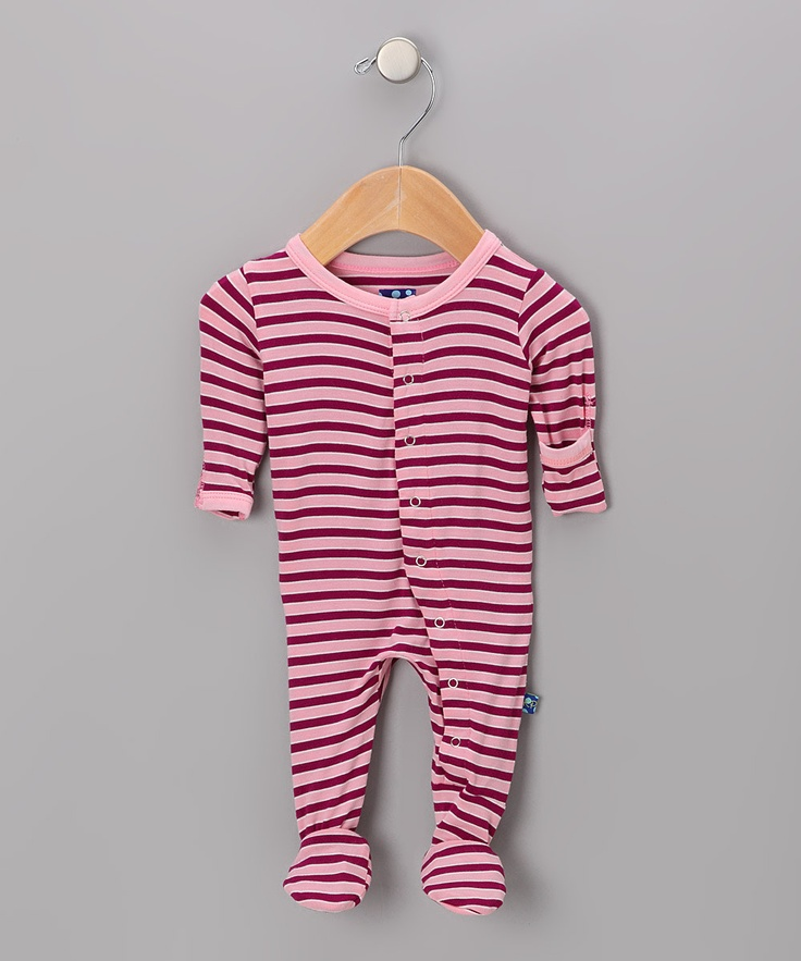This brand makes the BEST onesies I've seen...they are made from bamboo and extremely soft..perfect for baby!