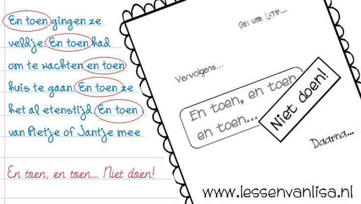 Lessen van Lisa - Schrijven